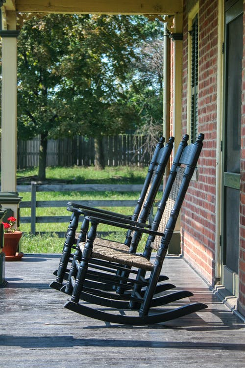 Free stock photo of rocking chair