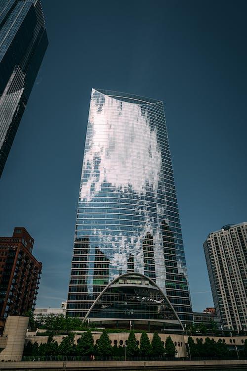 açık hava, bakış açısı, binalar, çağdaş içeren Ücretsiz stok fotoğraf