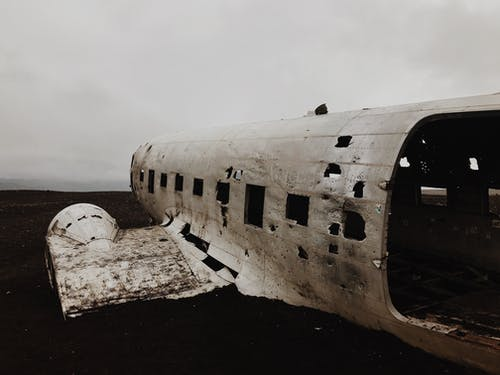 Photo of Abandoned Aircraft
