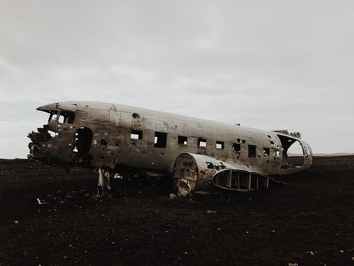 Photo of Plane Wreck