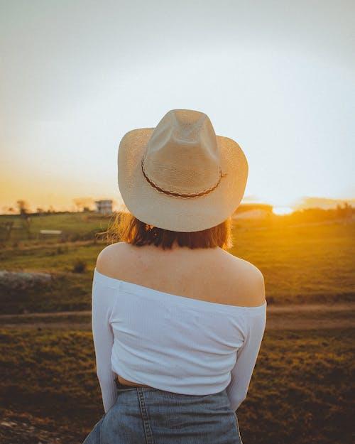 休閒, 假期, 夏天, 太陽帽 的 免费素材照片