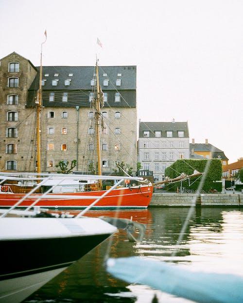 Kostnadsfri bild av 120mm, 120mm film, analog fotografering, båtar