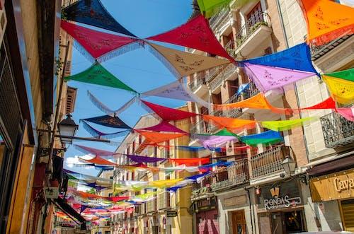 Безкоштовне стокове фото на тему «вечірка, Мадрид, місто, небо»