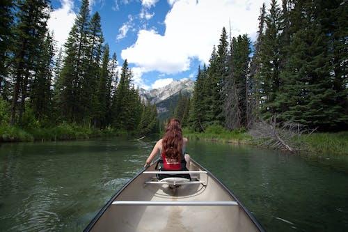 Ingyenes stockfotó folyó, hajóm csónak, kaland, kenu témában