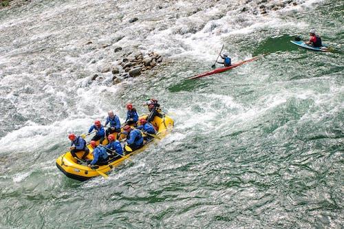 Immagine gratuita di acqua, canoa, natura, rafting