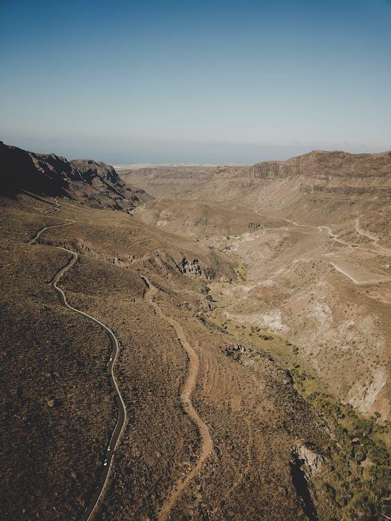 Δωρεάν στοκ φωτογραφιών με έρημο δρόμο