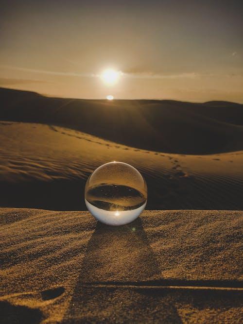 Photos gratuites de aride, aube, balle, coucher de soleil