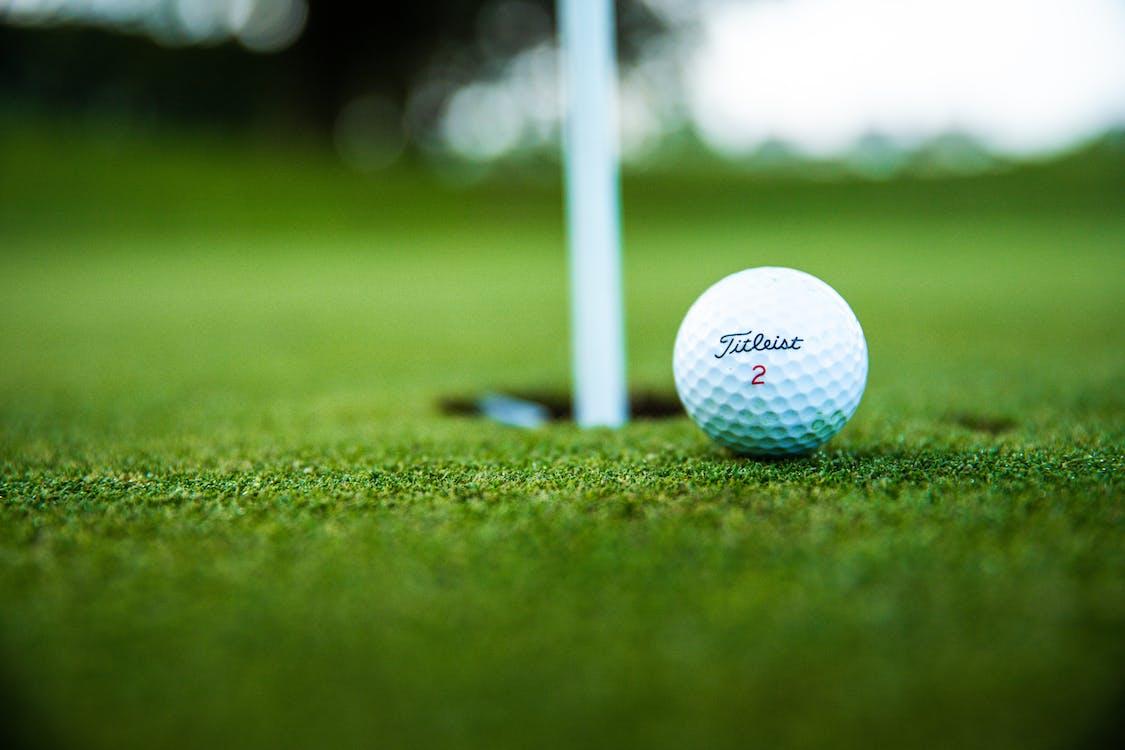 Close-Up Photo of Golf Ball