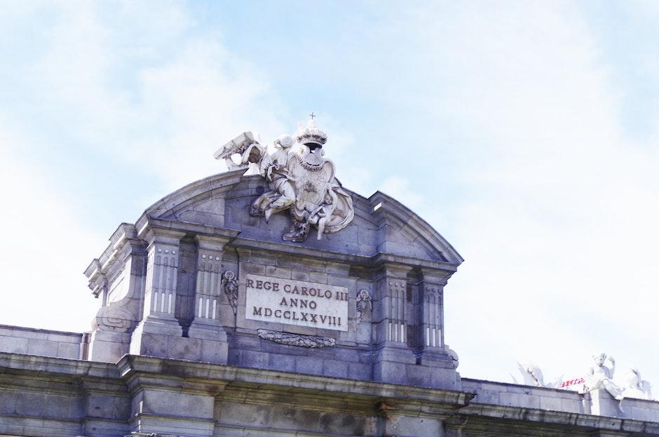 españa, madrid, Puerta de Alcalá