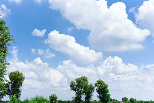 Free stock photo of pakistan, pind, sky, village