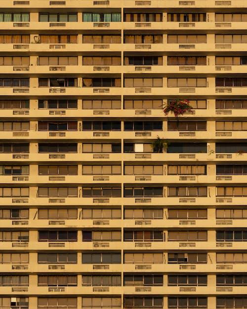 Kostenloses Stock Foto zu apartments, architektur, architekturdesign, aufnahme von unten