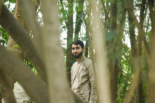 Free stock photo of forest, model, pakistan, posing