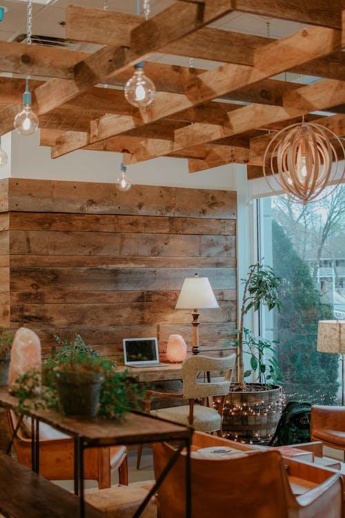 原本, 天花板, 安慰, 客廳 的 免费素材照片