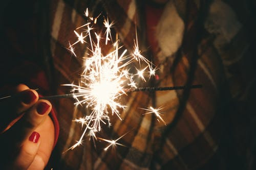 Lightened Sparkler