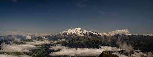 Gratis lagerfoto af bjerg, bjergvandring, mont blanc, randonnã © e