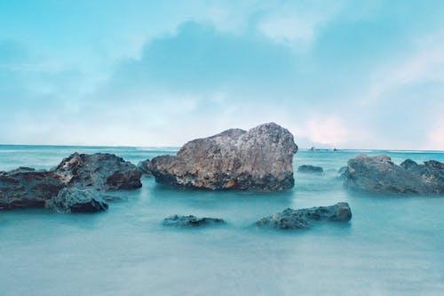 Immagine gratuita di azul, lunga esposizione, mar