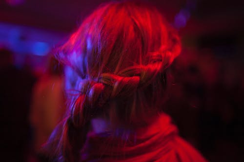 Free stock photo of blonde, hair, party, plait