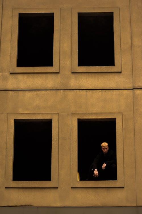 Ingyenes stockfotó ablakok, beton, design, divat témában