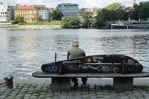 交通系統, 人, 城市, 塗鴉 的 免费素材照片