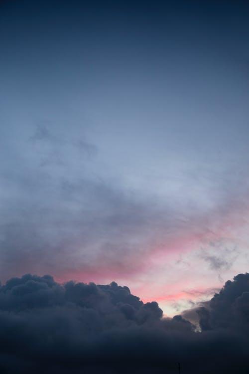 Imagine de stoc gratuită din cer, nori