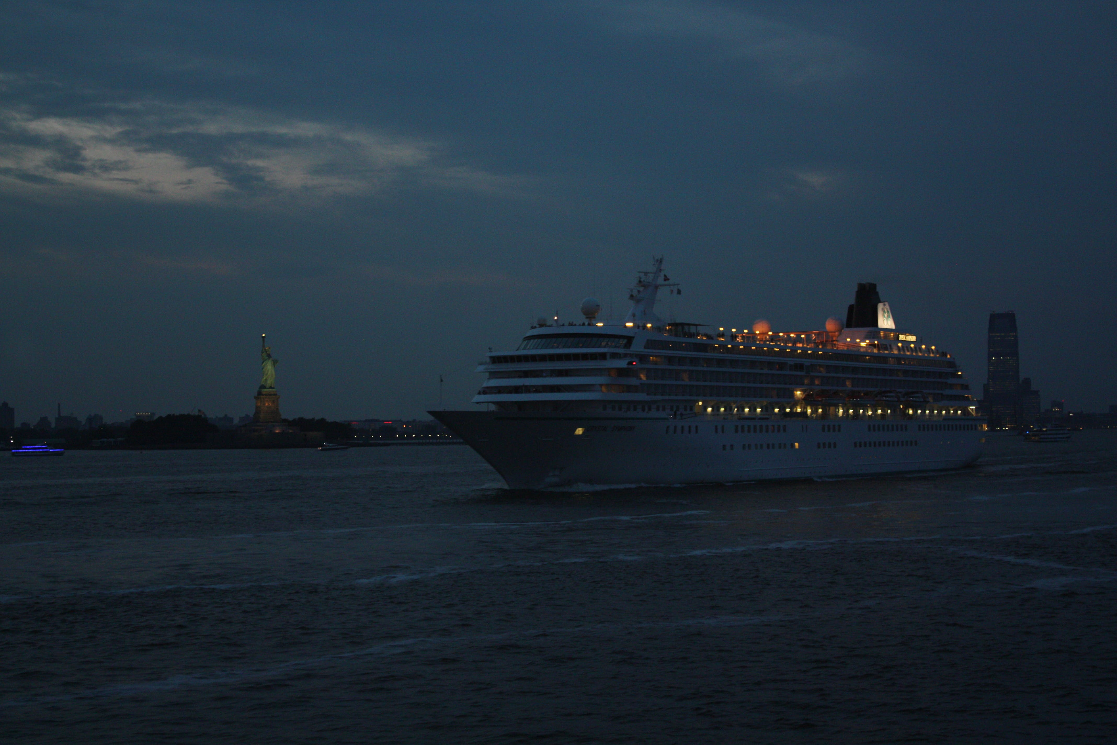 Free stock photo of crossing the river, cruise ship, ferry boat, hudson river