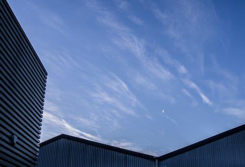 ふわふわの雲, テクスチャ, バックグラウンド, 建物の無料の写真素材
