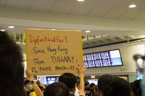 Free stock photo of hong kong, hongkong, protest