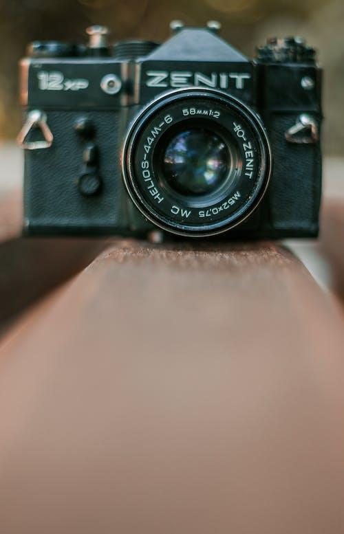 Free stock photo of 50, black camera, old, old camera