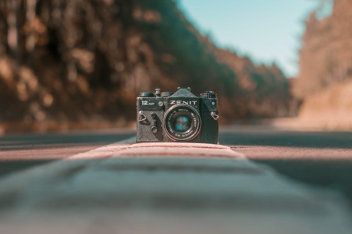 analogt kamera, antikk, gammelt kamera