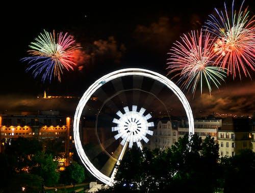 Imagine de stoc gratuită din artificii, celebrare, colorat, culori