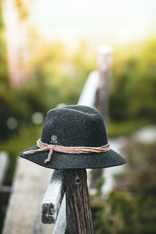 Black Hat on Fence