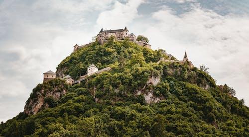 Photos gratuites de arbres, architecture, bâtiment, château