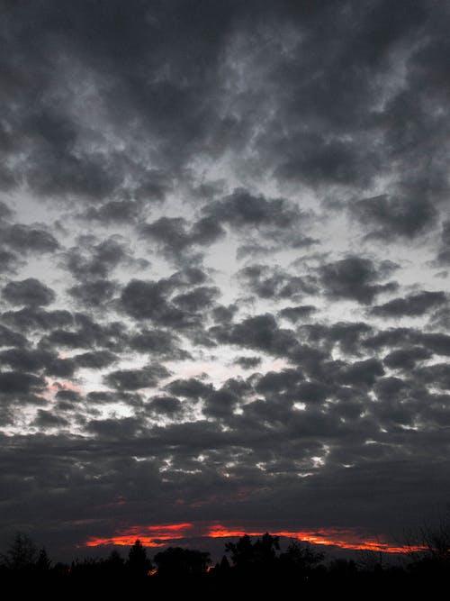 Gratis stockfoto met hemel, katoen, mooie zonsondergang, natuur