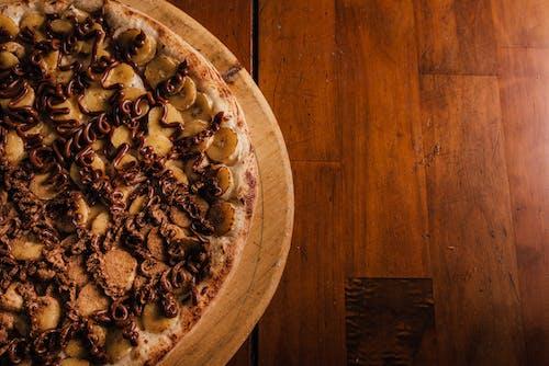 Foto d'estoc gratuïta de nutella, pizza, plàtan, xocolata