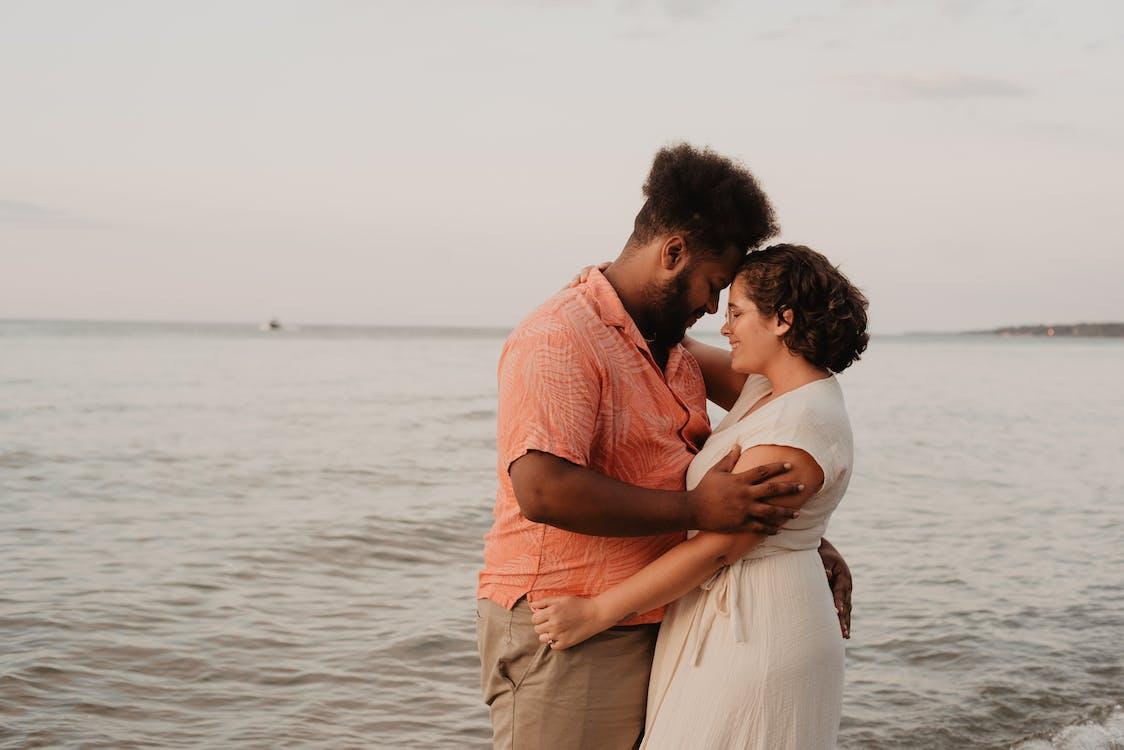 engagement, folk, forelsket