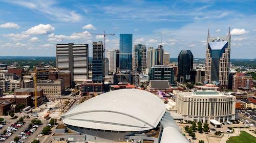 açık hava, bakış açısı, beton, binalar içeren Ücretsiz stok fotoğraf