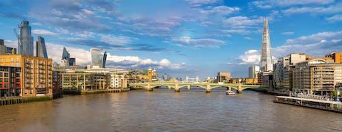 テムズ, ブリッジ, ロンドン, 川の無料の写真素材