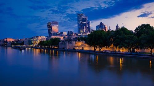 Free stock photo of bridge, buildings, london, night