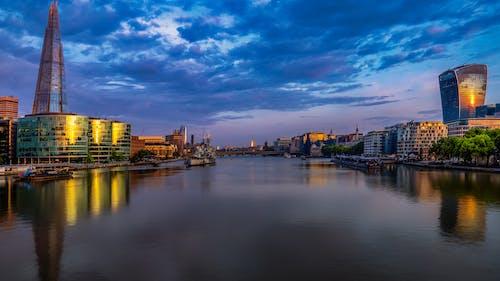 シャード, テムズ, ブリッジ, ロンドンの無料の写真素材