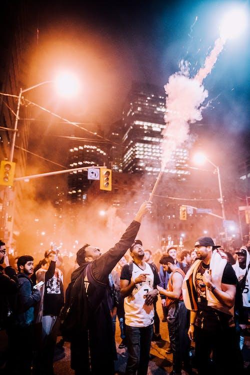 Foto profissional grátis de acontecimento, amontoado, borbulhante, celebração