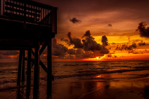 คลังภาพถ่ายฟรี ของ กระเพื่อม, กลางแจ้ง, ขอบฟ้า, ครึ้มเมฆ
