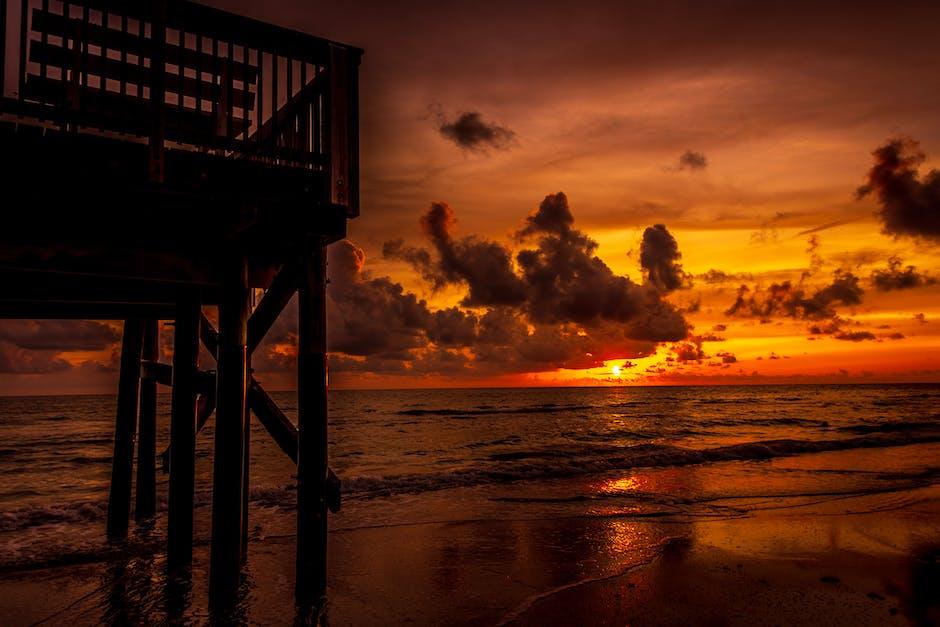 Photo of ocean dawn