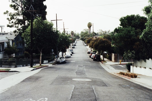Free stock photo of street, straight