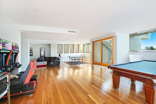 Photo Of Pool Table Near Gaming Section Room
