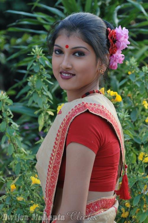 Безкоштовне стокове фото на тему «#models, assam, bihu, індійська танцюрист»