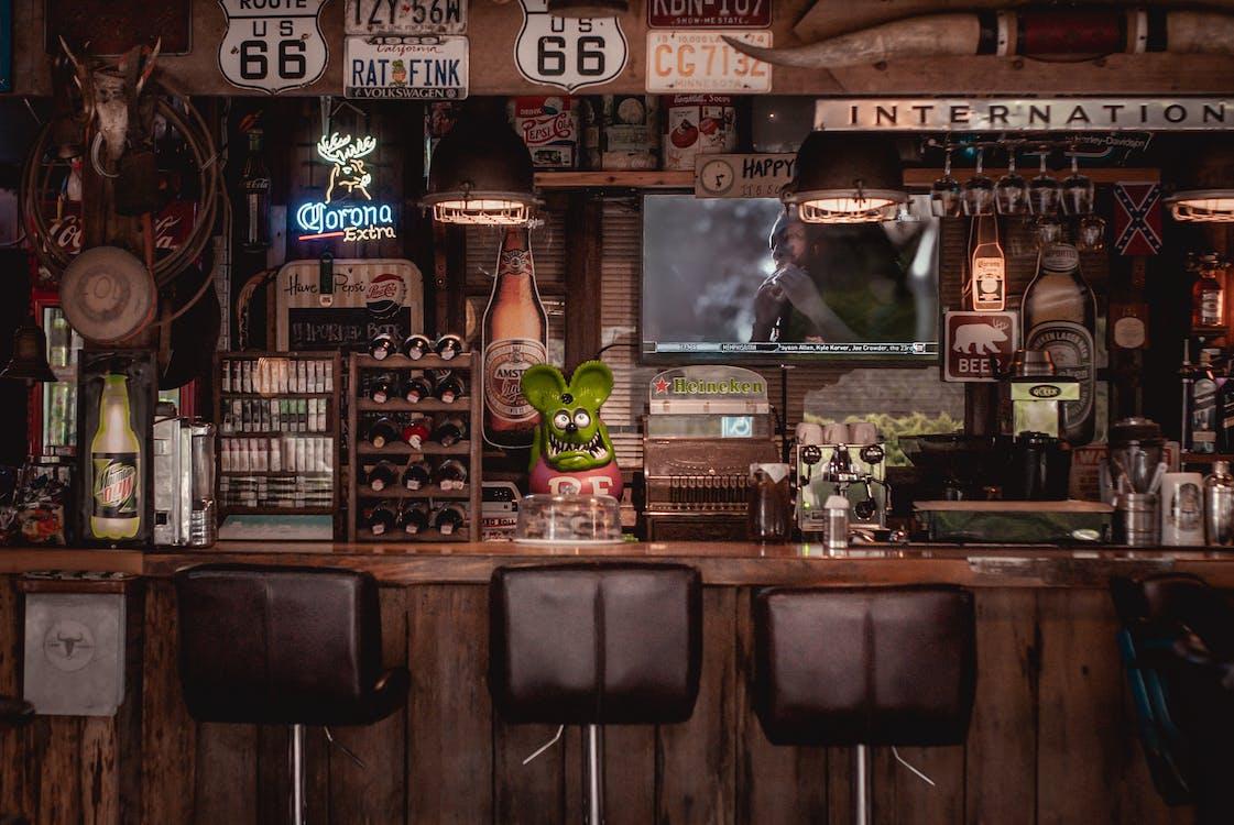 Architectural Design Of A Bar