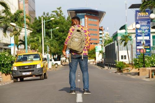 Foto d'estoc gratuïta de a l'aire lliure, africà, asfalt, autopista