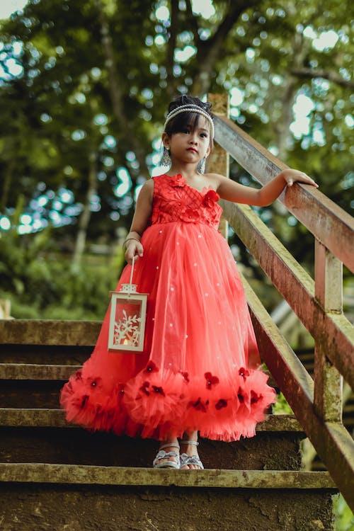 ガウン, キッド, ドレス, ファッションの無料の写真素材