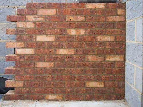 コンクリート, ブリーズブロック, レンガ, 家の延長の無料の写真素材
