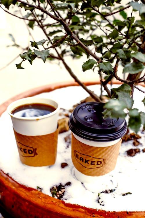 Gratis arkivbilde med brygget kaffe, kaffe, kaffedrikke, kaffekopper